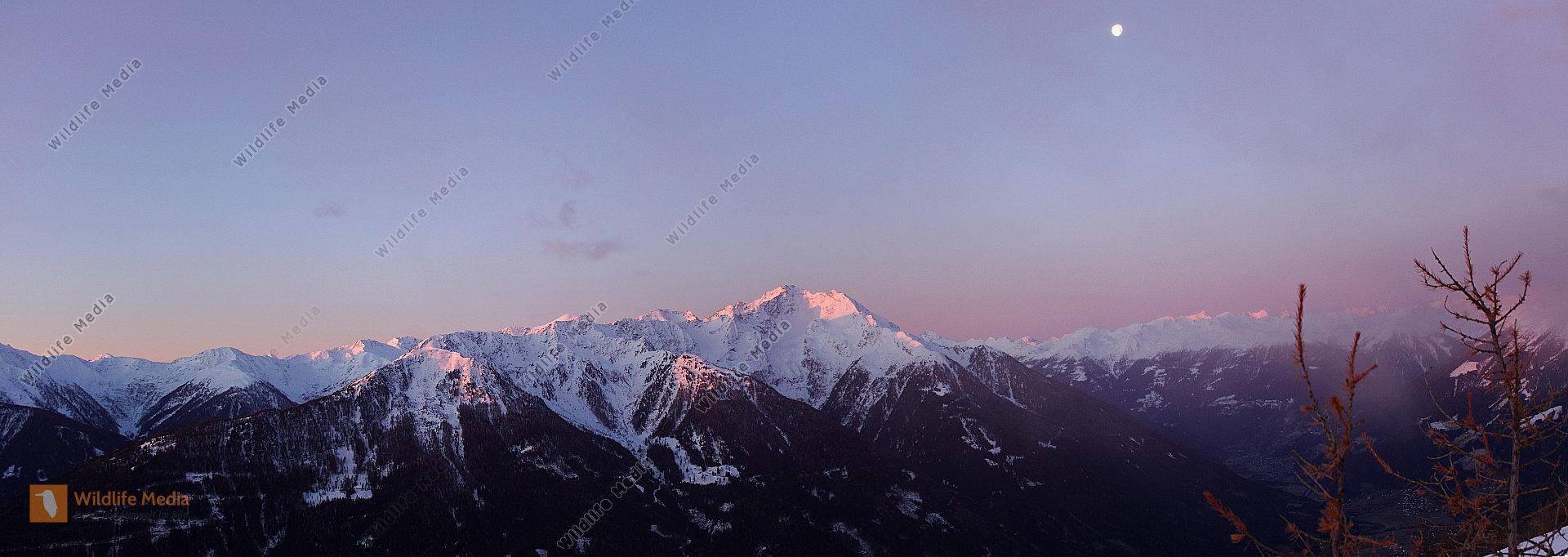 Sonnenaufgang im Mölltal