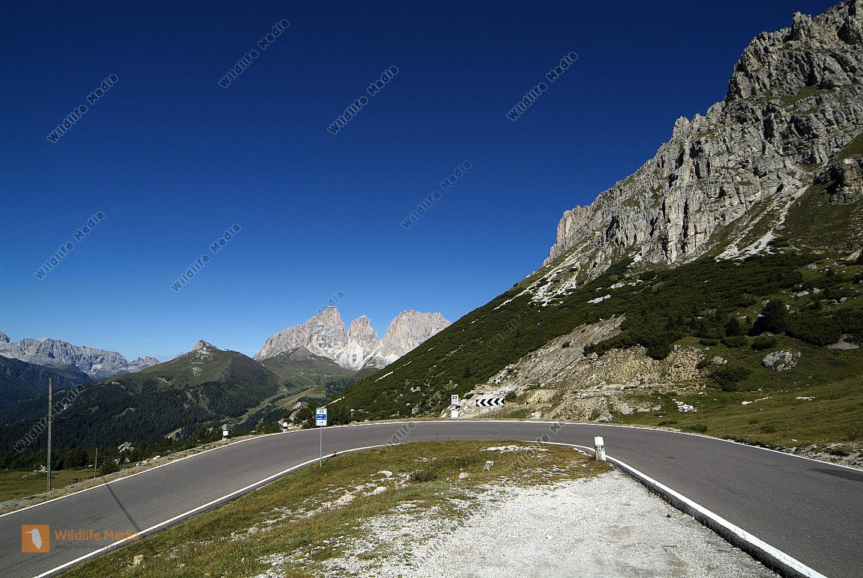 Italien, Bergstrasse