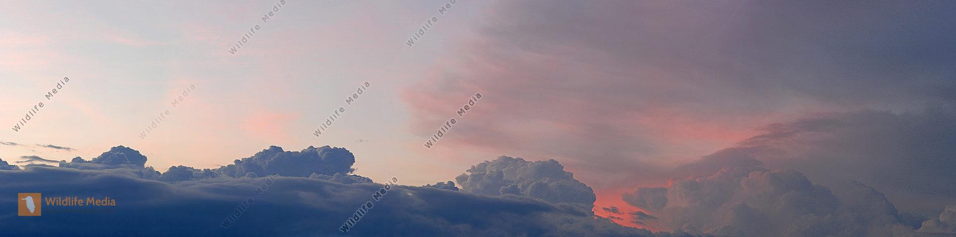 Abendhimmel Panorama