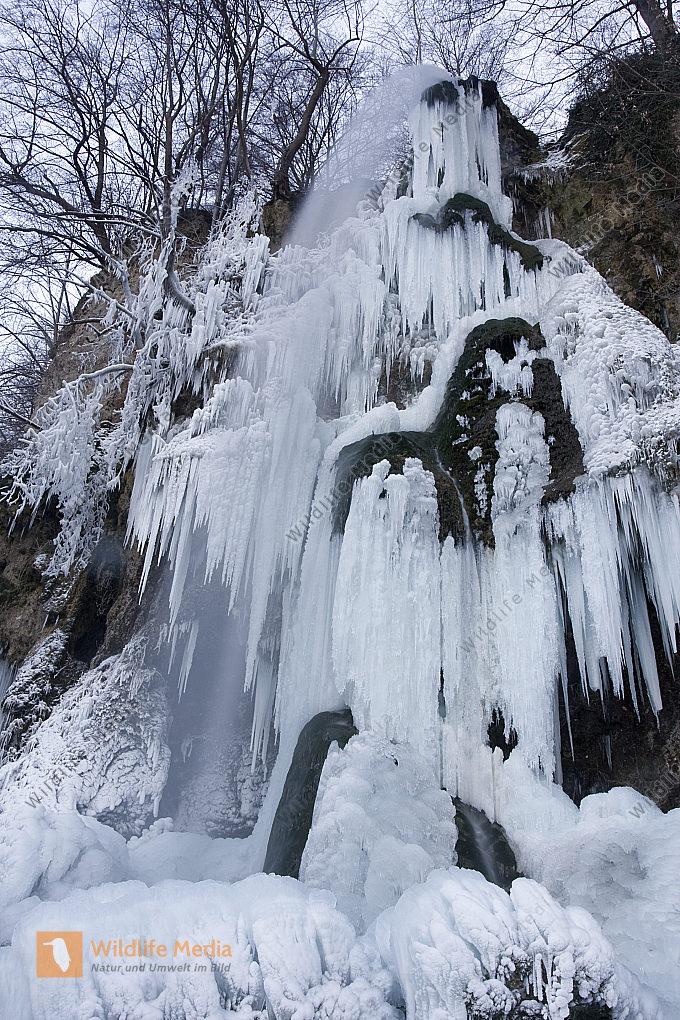 Eis am uracher Wasserfall
