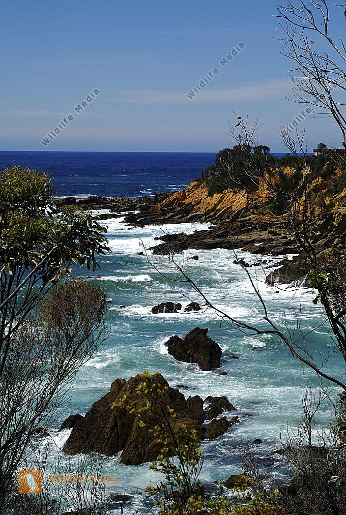 Australien Sapphir Coast Blick vom Michael Lerner Lookout