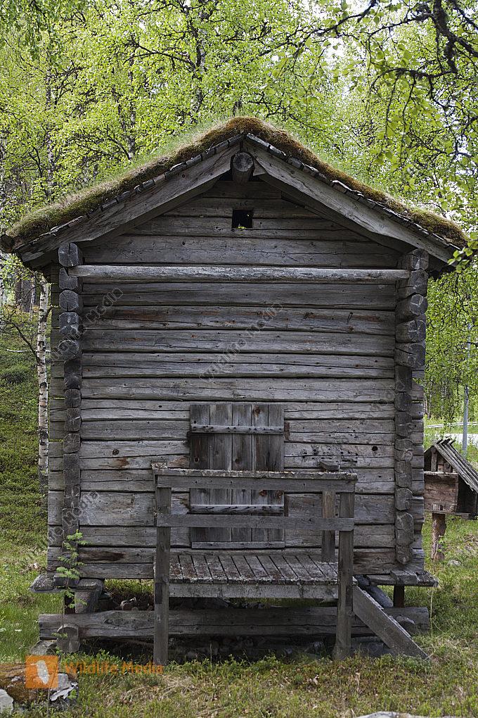 historisches Holzhaus