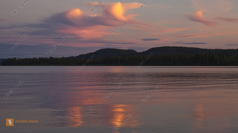Wolkenspiegelbild