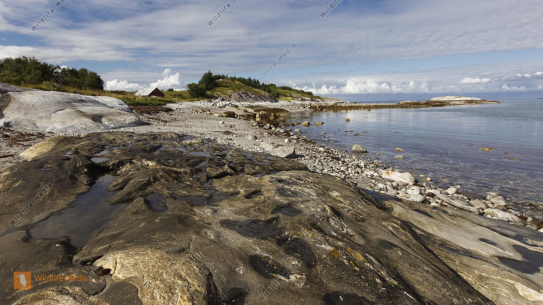 Küstenabschnitt in Norwegen