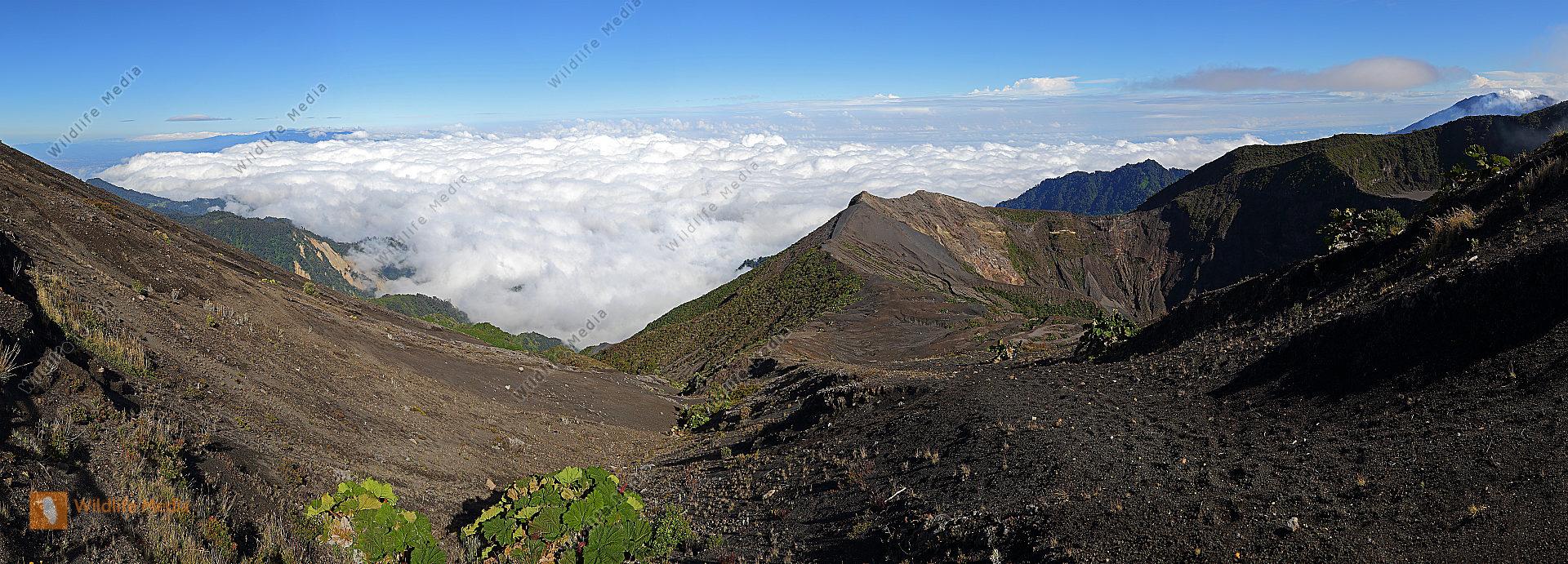 Irazu Gipfelpanorama