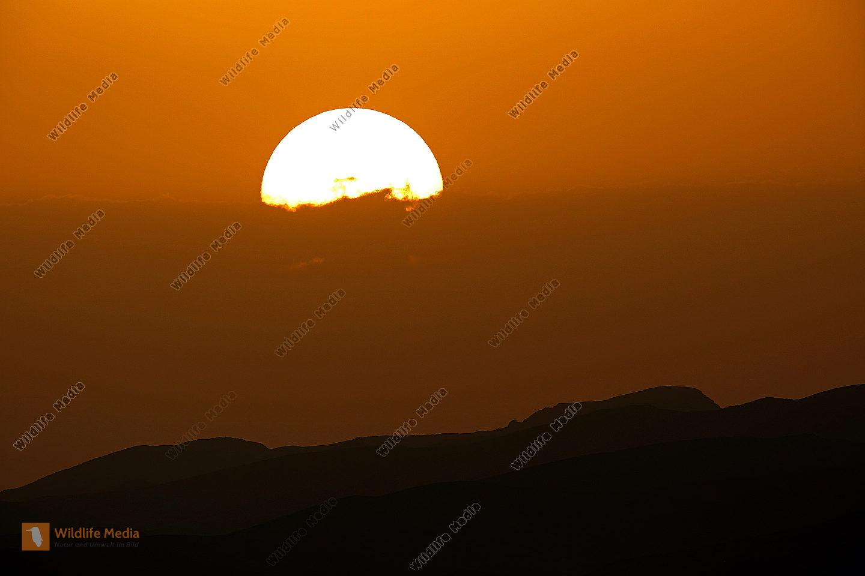 Sonnenuntergang Marokko