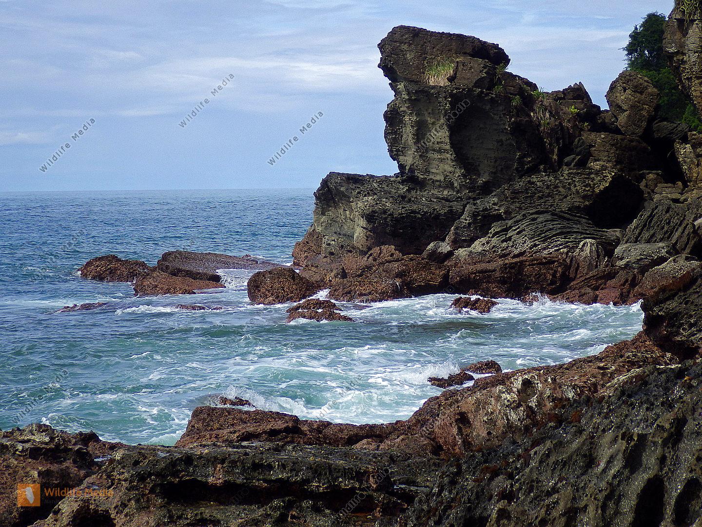 Felsklippe Costa Rica