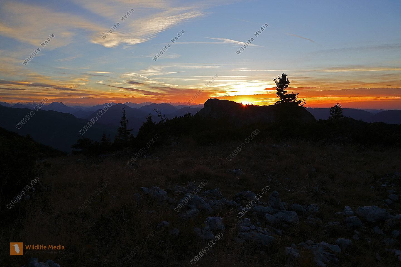 Sonnenuntergang Dürrenstein