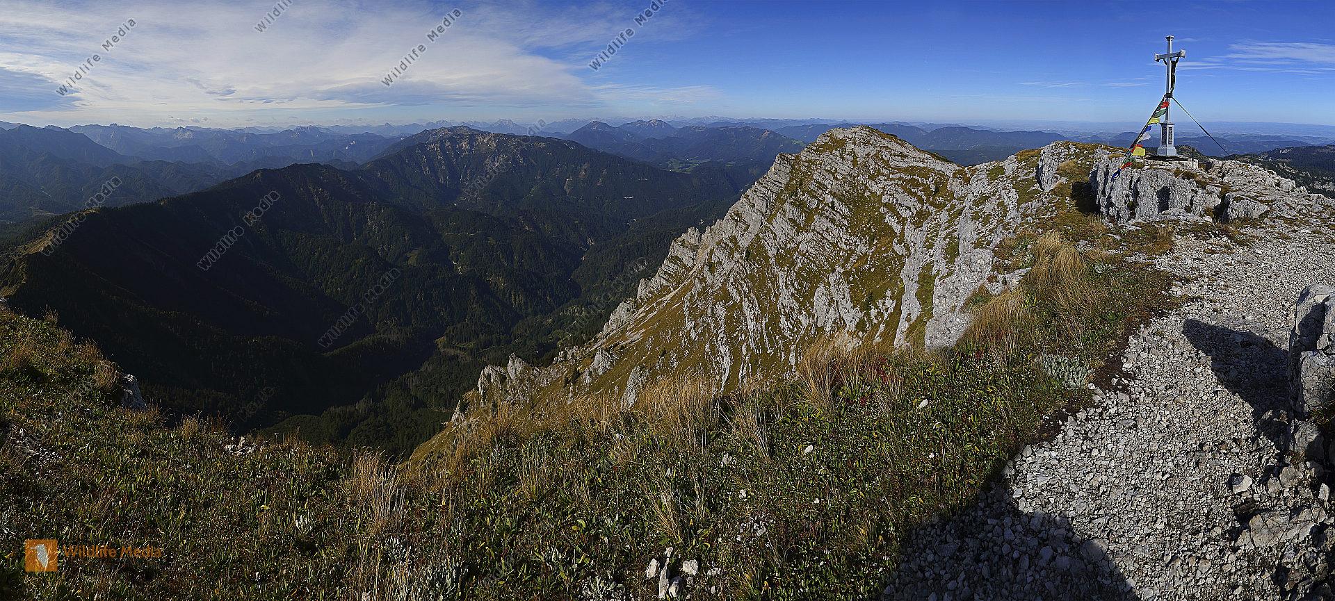 Dürrenstein Gipfel Panorama