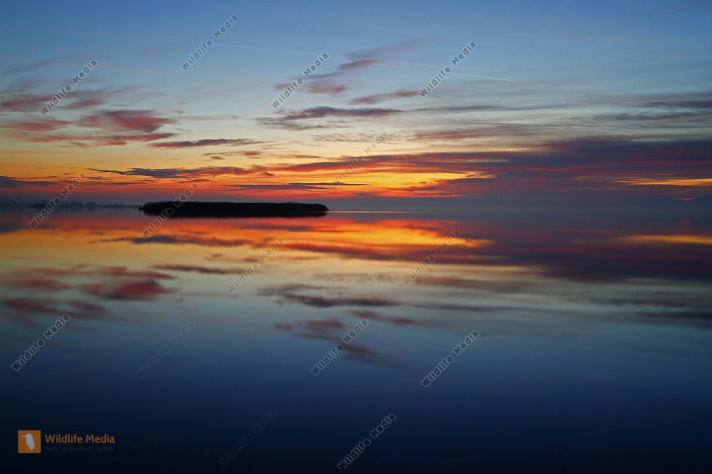 Sonnenuntergang Neusiedlersee