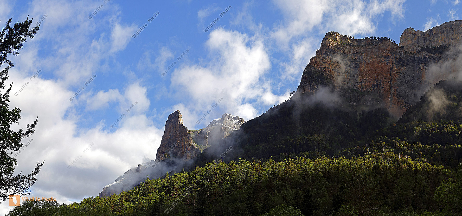 Nationalpark Ordesa Monte Perdido Panorama