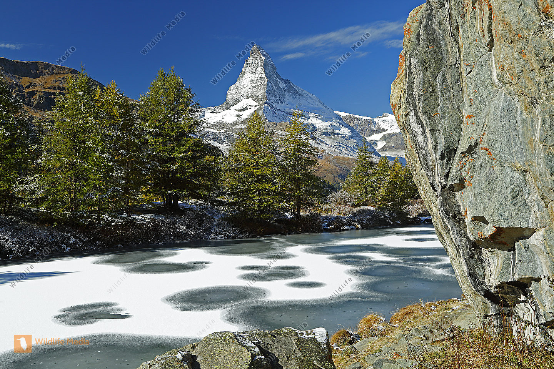 Grindjiisee mit Matterhorn
