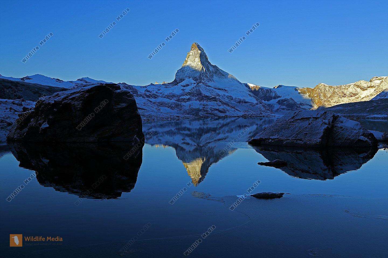 Stellisee mit Matterhorn