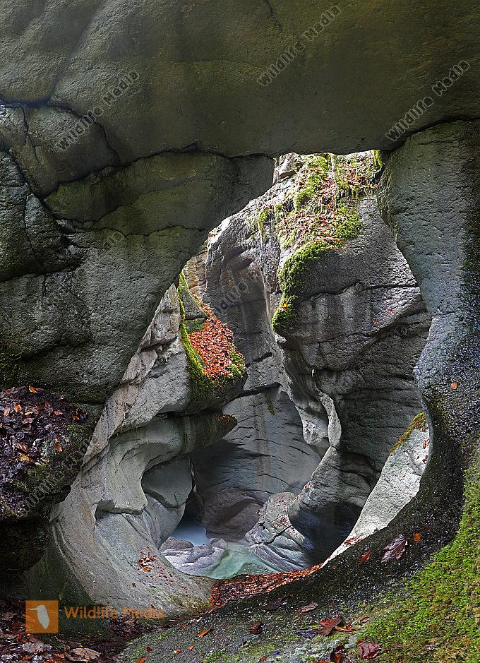 Taugler Strubklamm Panorama