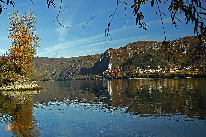 Dürnstein im Herbst