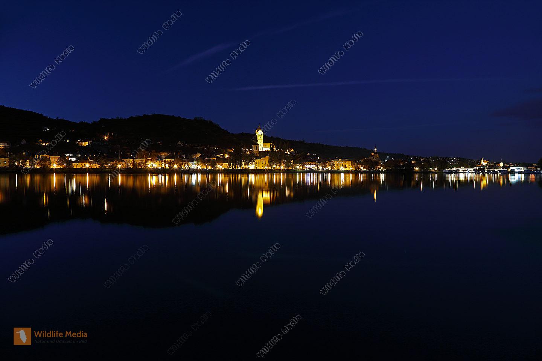 Krems bei Nacht
