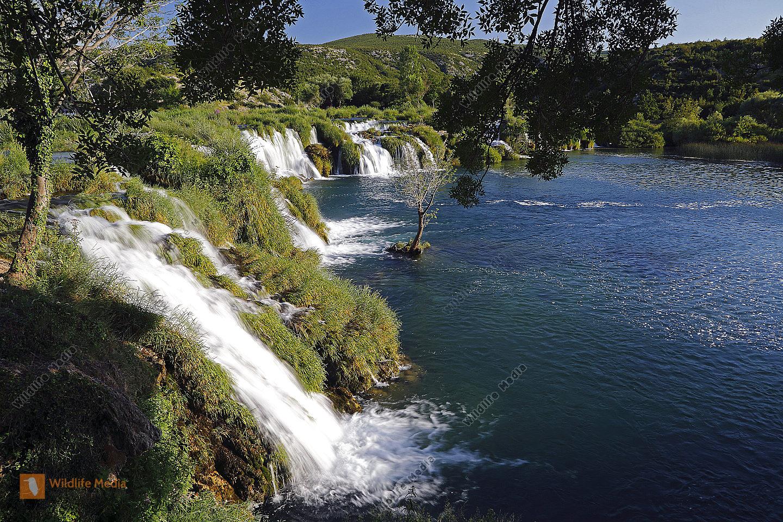 Zrmanja Wasserfälle