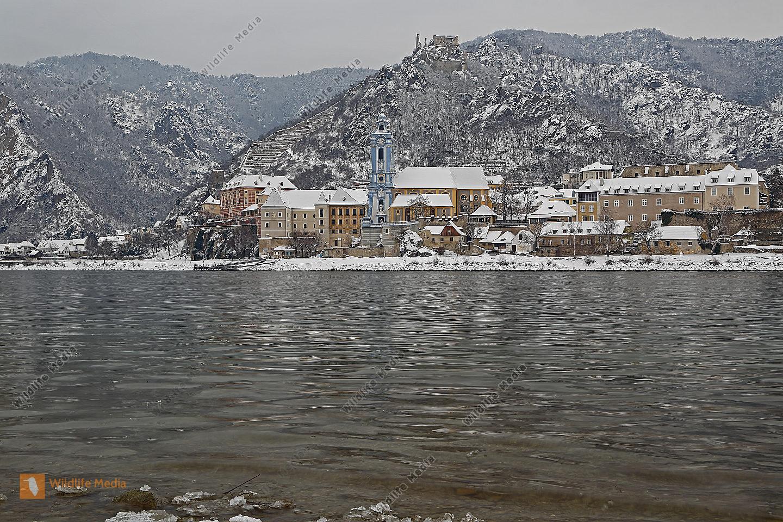 Dürnstein im Winter