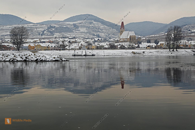 Weißenkirchen im Winter
