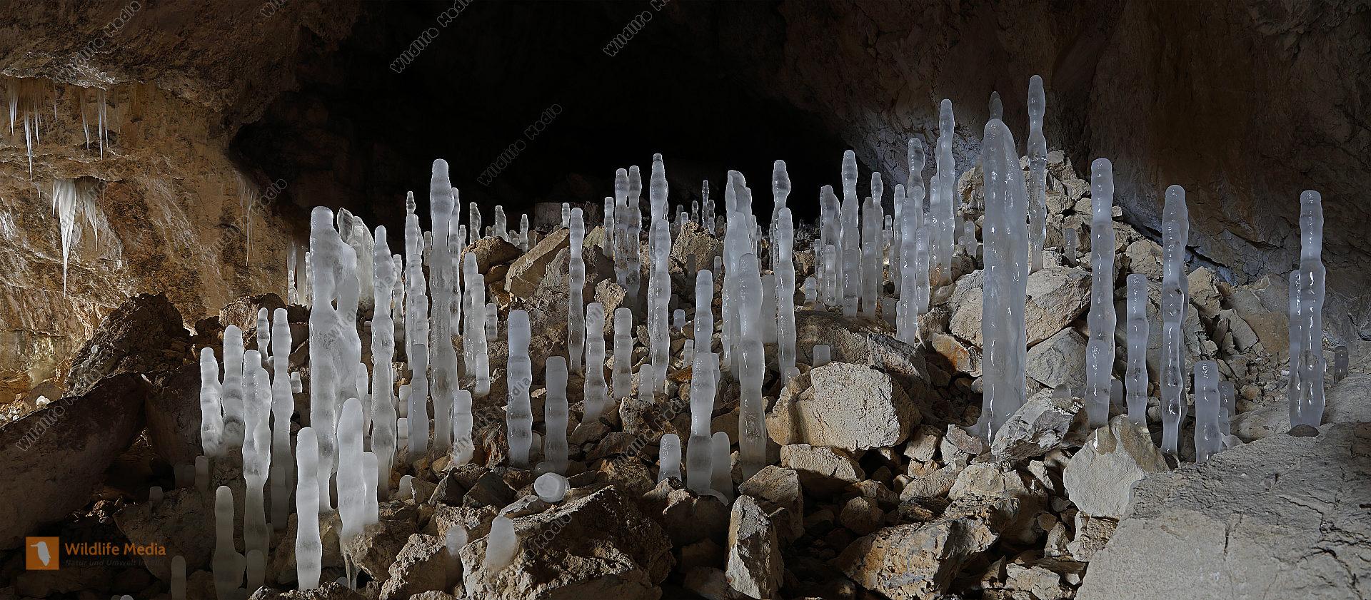 Eishöhle Panorama