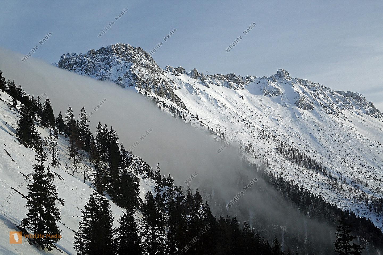 Eisenerzer Griesmauer im Winter