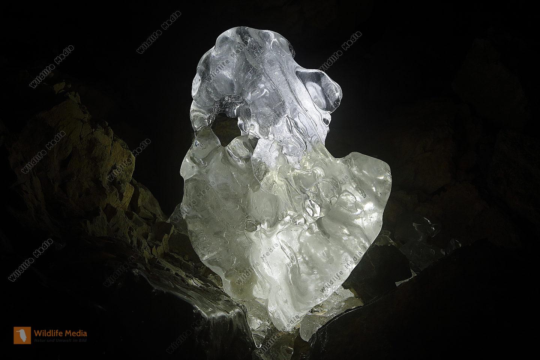 Natürliche Eisskulptur