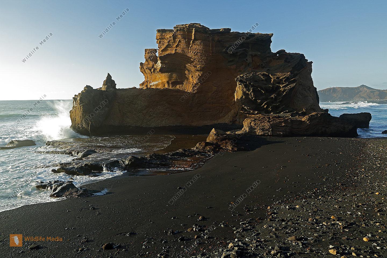 Lavafelsen El Golfo