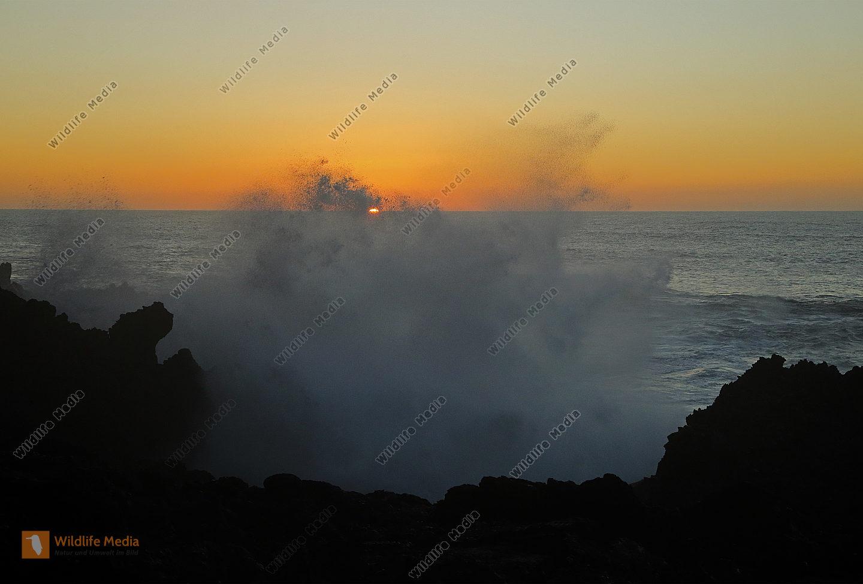 Sonnenuntergang Los Hervideros