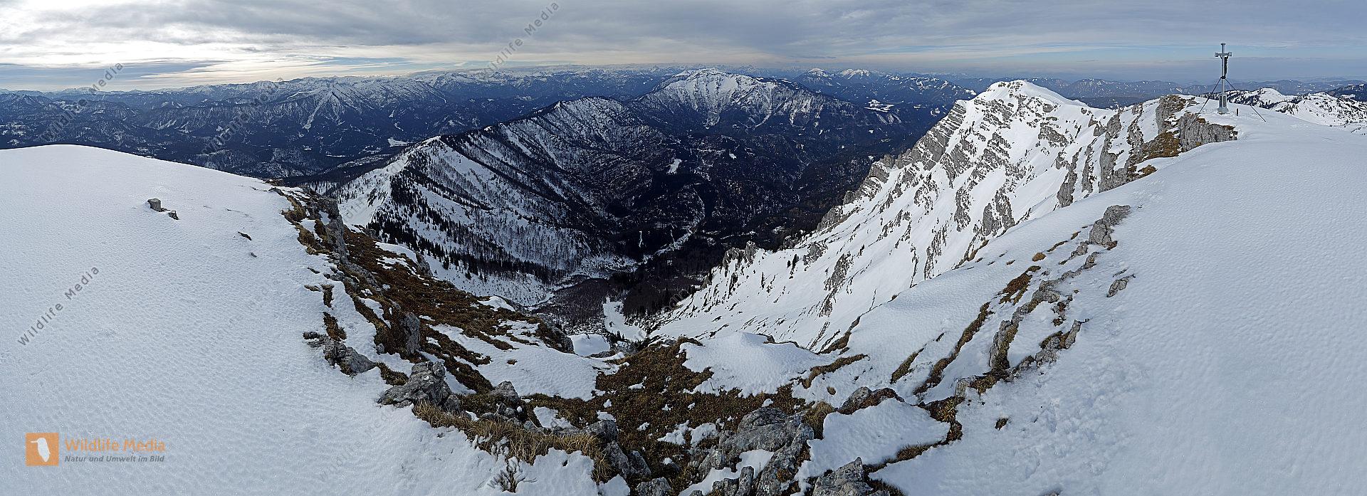 Dürrenstein Gipfelpanorama