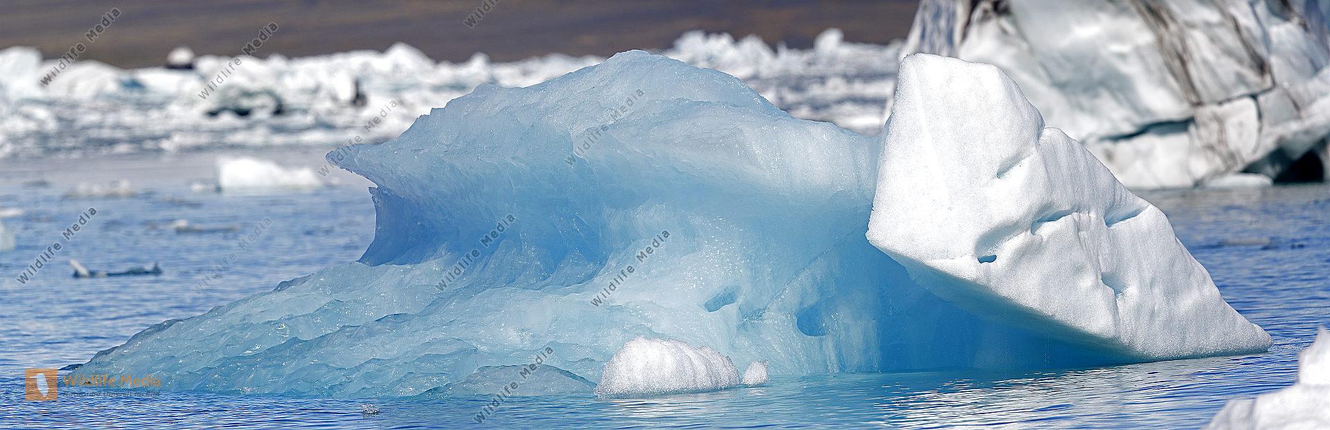 Eisberg im Jökulsarlon