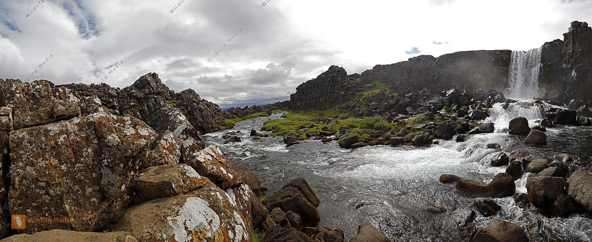 Grabenbruch bei Pingvellir Panorama