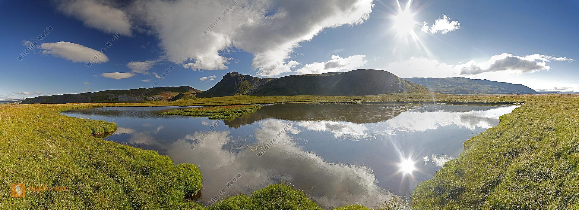 Westfjorde bei Baer Panorama