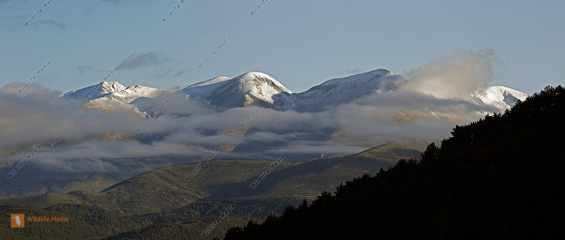 Pyrenäen Panorama