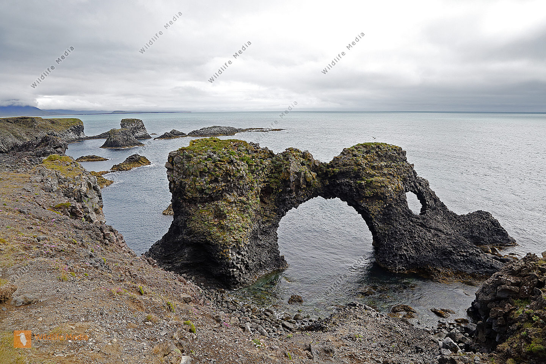 Gatklettur Arch Rock bei Arnarstapi