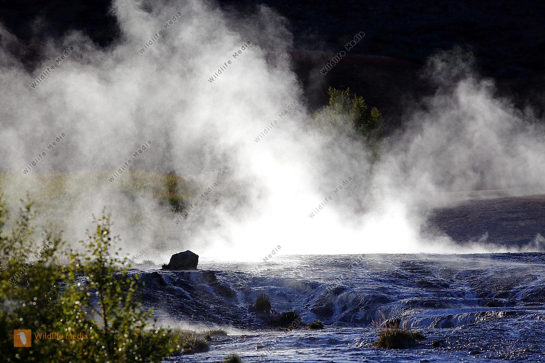 Heiße Quellen in Island