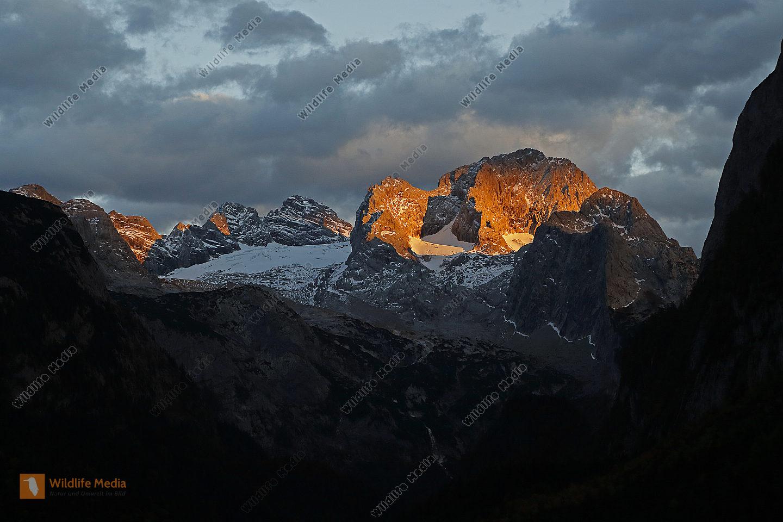 Dachstein im Sonnenuntergang
