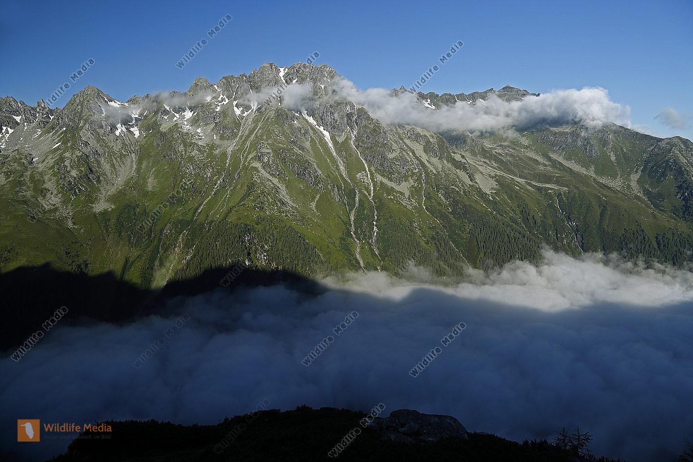 Habachtal mit Nebelmeer