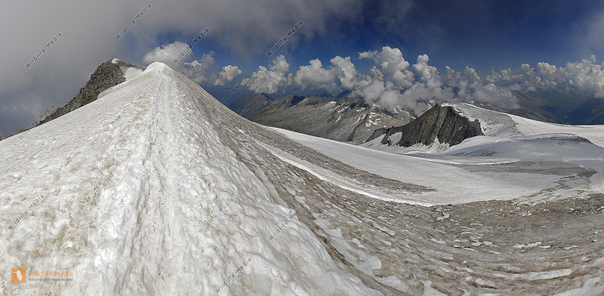 Großvenediger Gipfel Panorama