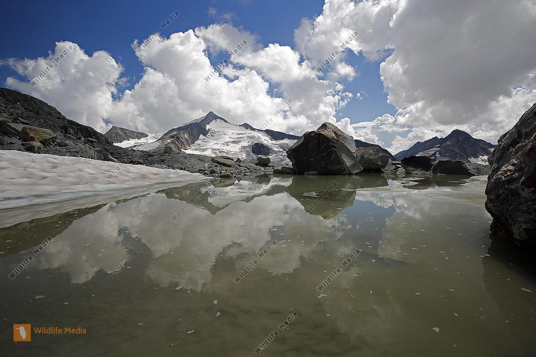Gletschersee mit Großvenediger