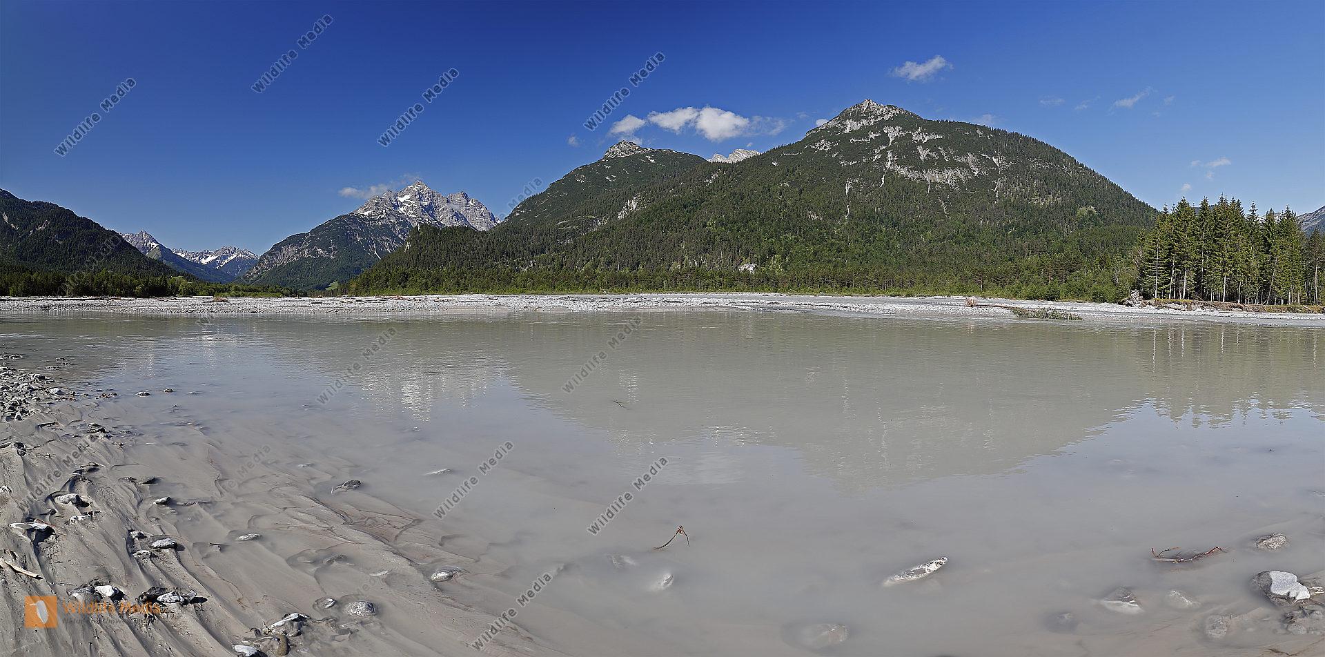Tiroler Lechtal Panorama