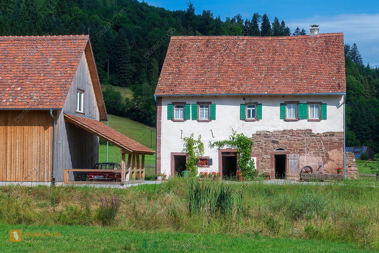Bauernhaus im Freilichtmuseum in Gutach