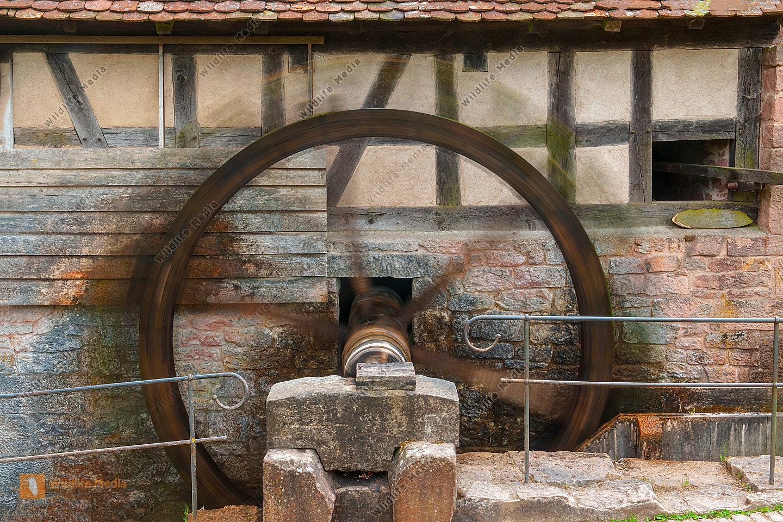 Alte Wassermühle in der Rhön