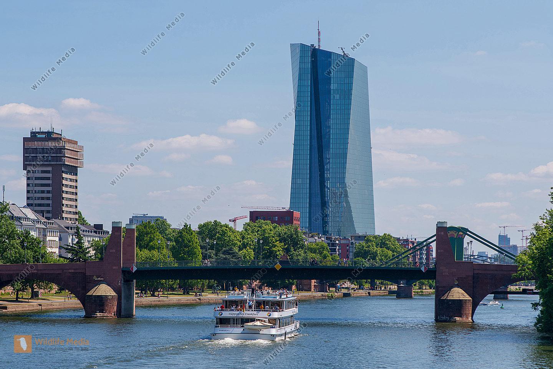 Haus der Europäischen Zentralbank in Frankfurt/Main