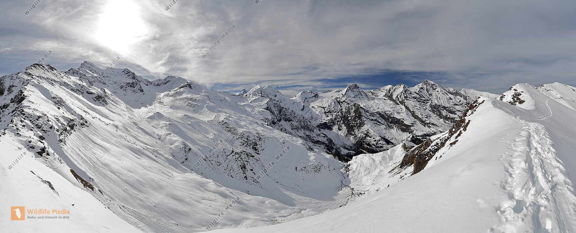Großes Wiesbachhorn Panorama