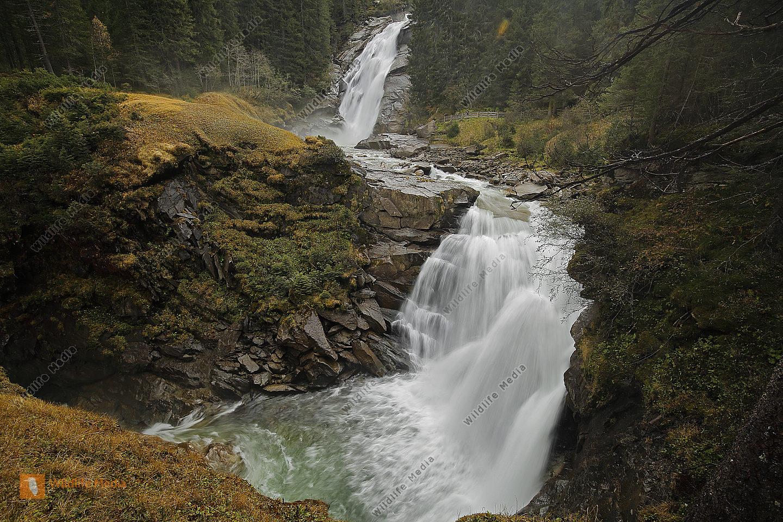 Krimmler Wasserfälle Mittlerer Fall