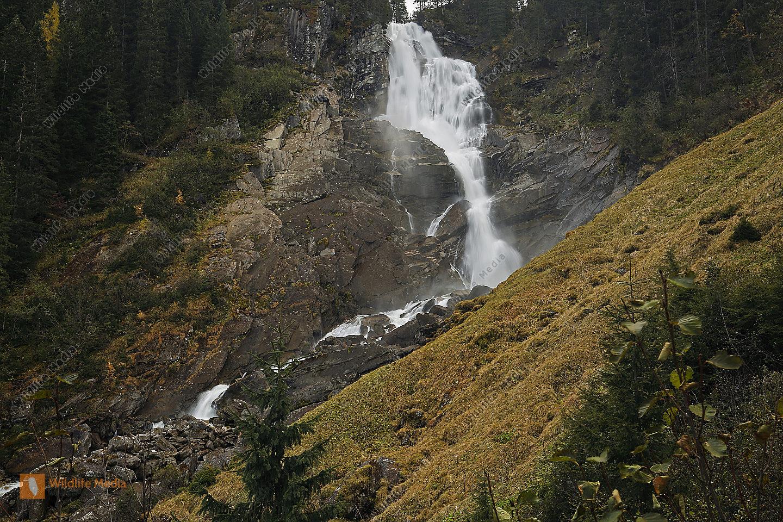 Krimmler Wasserfälle Oberer Fall