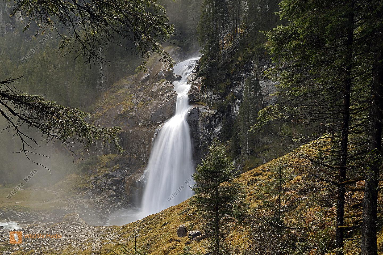 Krimmler Wasserfälle Unterer Fall
